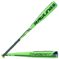 Rawlings Threat Youth USA Baseball Bat - Grade School - Light Green / Light Green