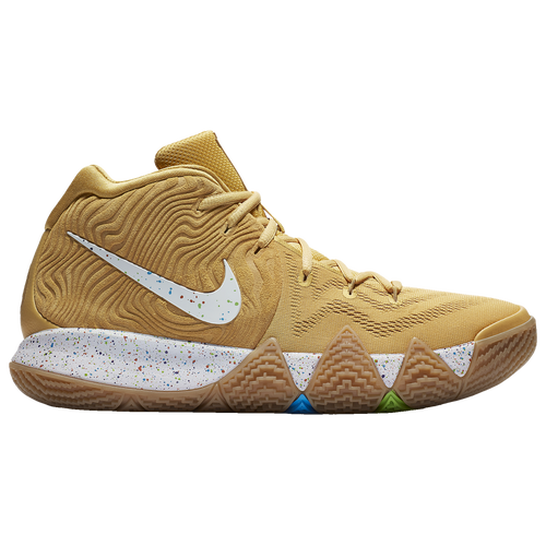 e98f69650561 ... best price nike kyrie 4 boys grade school basketball shoes kyrie irving  metallic gold coin white