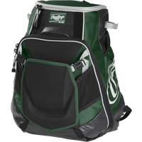 Rawlings Velo Backpack - Dark Green / Black