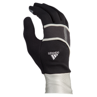 adidas Dash Run Gloves - Men's - Black / Silver