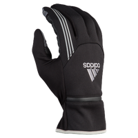 adidas Voyager Run Gloves - Men's - Black / Silver