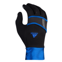 adidas Dash Lightweight Run Gloves - Women's - Black / Blue