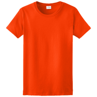 Gildan Team Ultra Cotton 6oz. T-Shirt - Women's - Orange / Orange