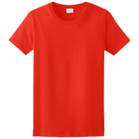 Gildan Team Ultra Cotton 6oz. T-Shirt - Women's - Red / Red
