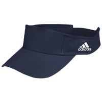 adidas Team Adjustable Visor - Navy / White