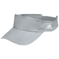 adidas Team Adjustable Visor - Grey / White
