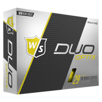 Wilson Staff Duo Soft Golf Balls - Men's - Yellow / Black