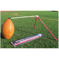 Wizard Football Kicking Stix - Men's - Red / White