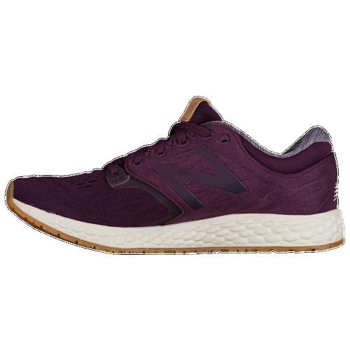 New Balance Fresh Foam Zante V3 - Women's Running Shoes - Aubergine/Sea Salt/Gum Rubber WZANTOB3